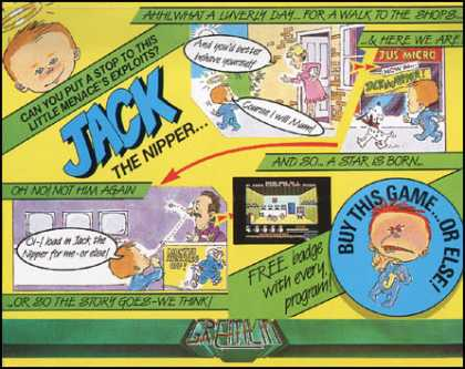 C64 Games - Jack the Nipper