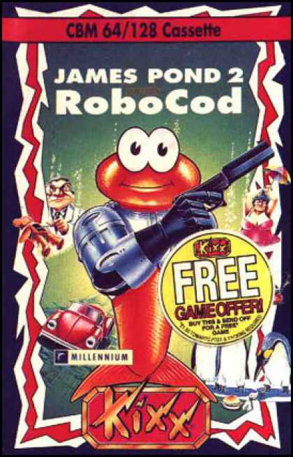 C64 Games - James Pond 2: Robocod