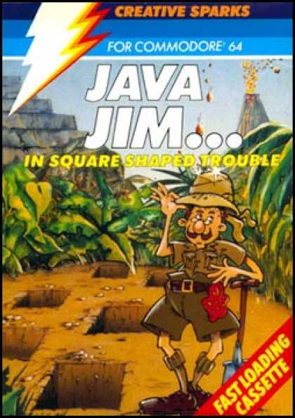 C64 Games - Java Jim: Square Shaped Trouble