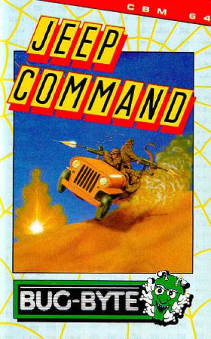 C64 Games - Jeep Command