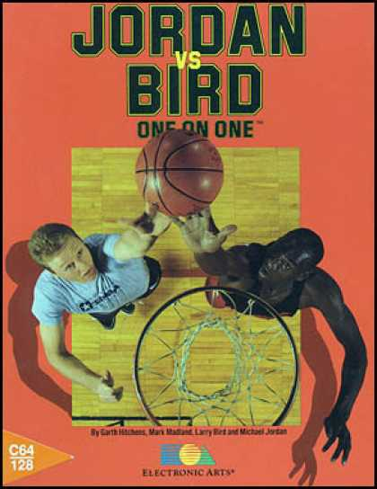 C64 Games - Jordan vs. Bird: One on One