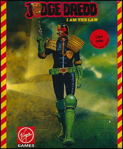 C64 Games - Judge Dredd