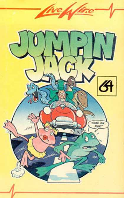C64 Games - Jumpin' Jack
