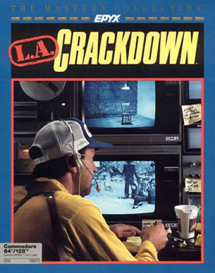 C64 Games - L.A. Crackdown