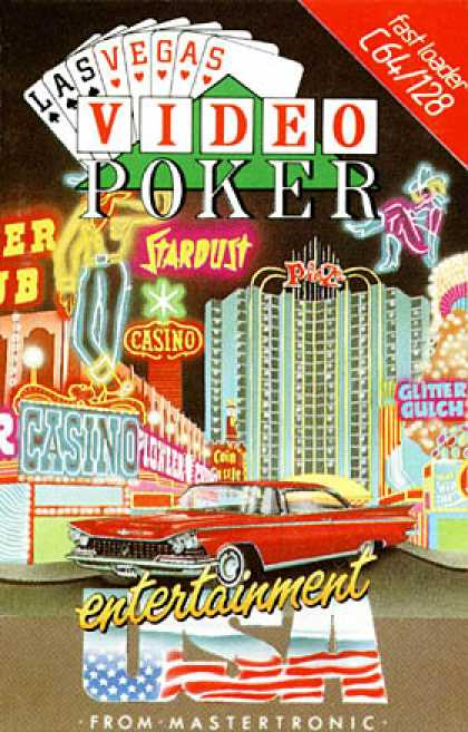 C64 Games - Las Vegas Video Poker