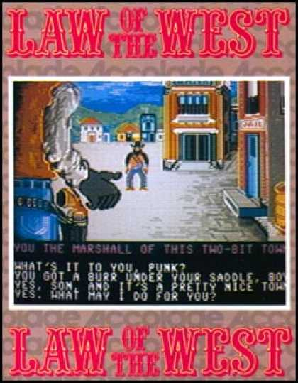 C64 Games - Law of the West
