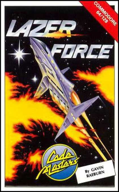 C64 Games - Lazer Force