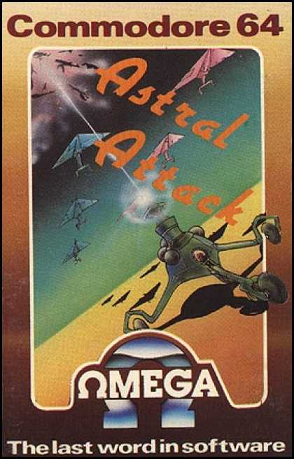 C64 Games - Astral Attack