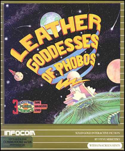 C64 Games - Leather Goddesses of Phobos