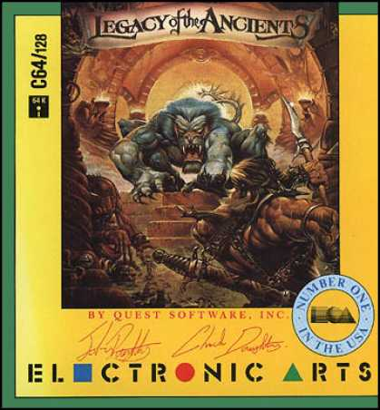C64 Games - Legacy of the Ancients