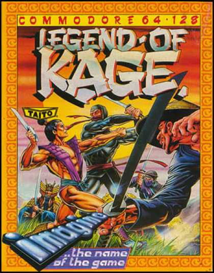 C64 Games - Legend of Kage