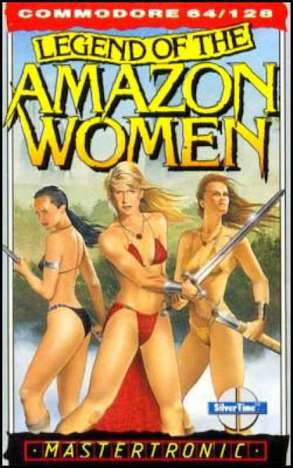 C64 Games - Legend of the Amazon Women