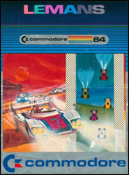 C64 Games - Lemans
