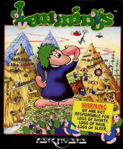 C64 Games - Lemmings
