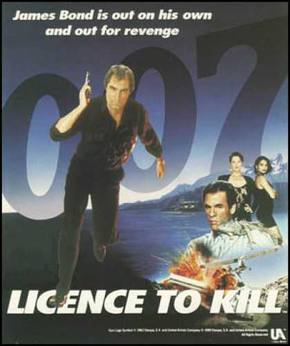 C64 Games - Licence to Kill