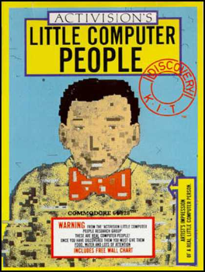 C64 Games - Little Computer People