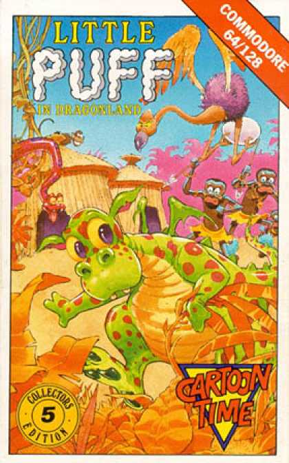 C64 Games - Little Puff in Dragonland