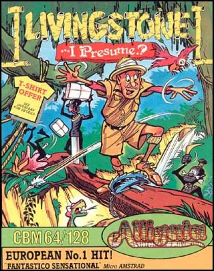 C64 Games - Livingstone... I Presume?