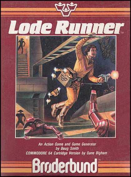 C64 Games - Lode Runner