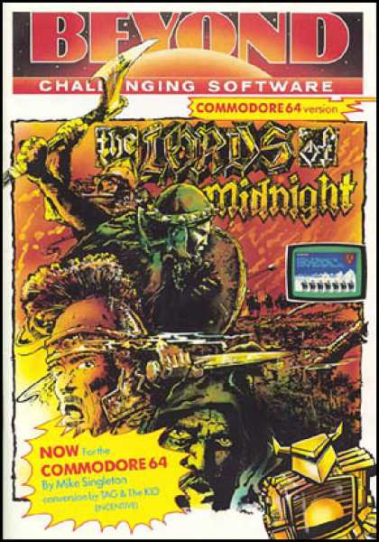 C64 Games - Lords of Midnight