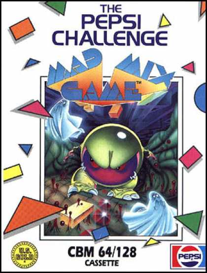C64 Games - Pepsi Challenge: Mad Mix Game