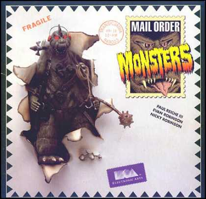 C64 Games - Mail Order Monsters