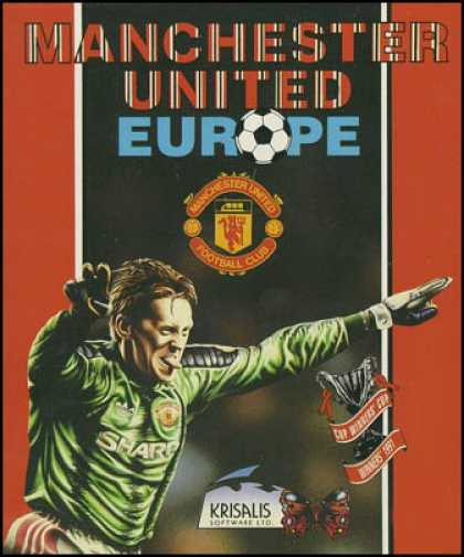 C64 Games - Manchester United Europe