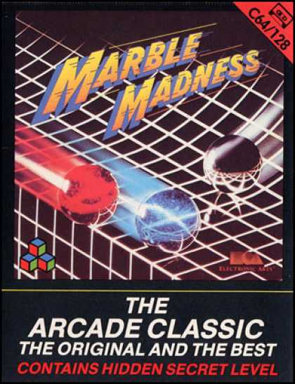 C64 Games - Marble Madness