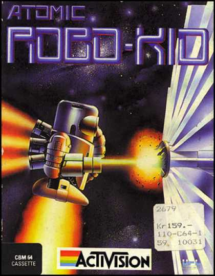C64 Games - Atomic Robo-Kid