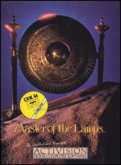 C64 Games - Master of the Lamps