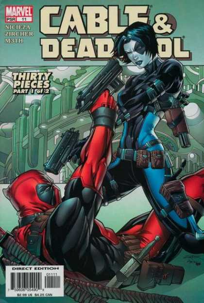 Cable & Deadpool 11 - Marvel - Nicieza - Zircher - Thirty Pieces - Direct Edition