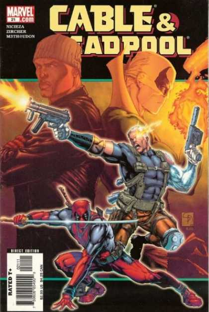Cable & Deadpool 21 - Rob Schwager