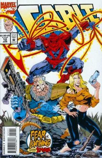 Cable 12 - Marvel - Guns - Fear And Loathing - Direct Edition - Costumes