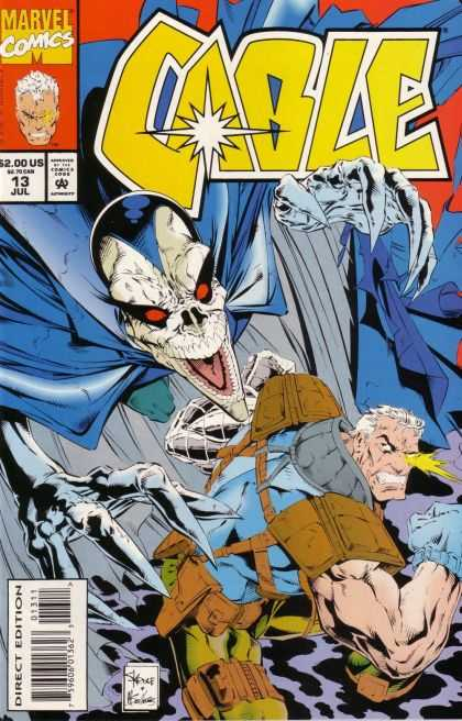 Cable 13 - Cable - Villan - Cape - Skull - Large Muscles