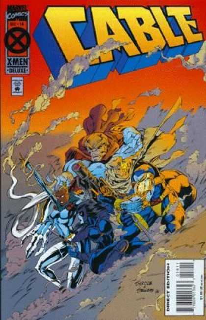 Cable 18 - X Men - Marvel Comics - Woman - Armor - Sliding