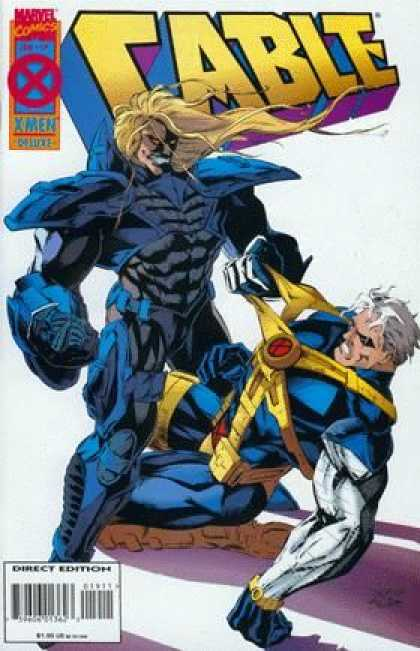 Cable 19 - Marvel - Armor - X-men - Blonde