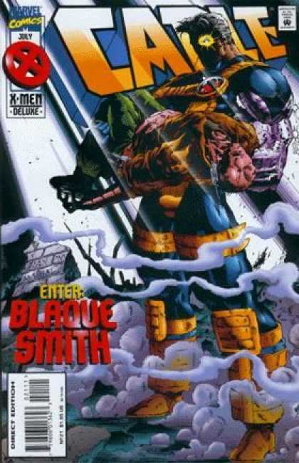 Cable 21 - Mutant - Telepath - Leader - Virus - Blaque Smith