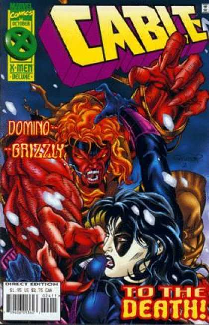 Cable 24 - Marvel - Xmen - October - Dominio - Grizzly - Salvador Larroca