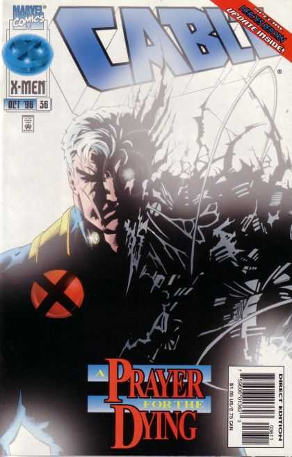 Cable 36 - Marvel Comics - X-men - Prayer For The Dying - Oct 98 - Red X