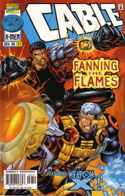 Cable 37 - Marvel - X-men - November - Fanning The Flames - Fists