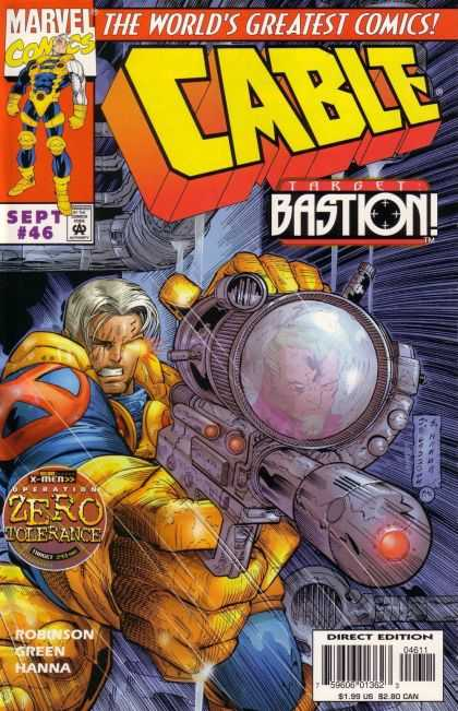 Cable 46 - Marvel - Gun - The Worlds Greatest Comics - Costume - Direct Edition - Jose Ladronn
