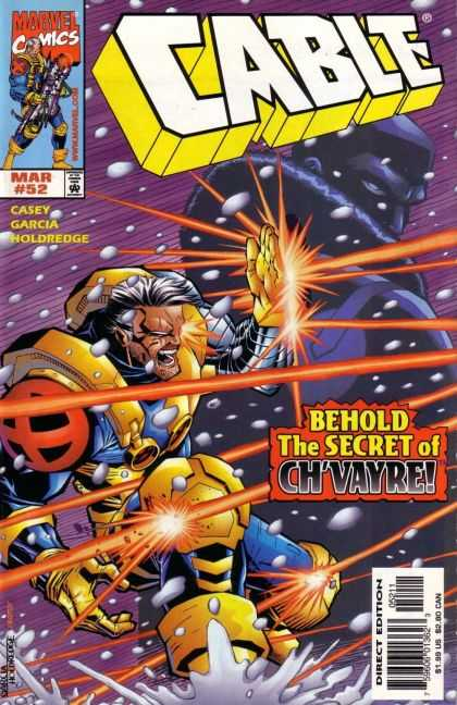 Cable 52 - Mar 52 - Casey - Garcia - Holdredge - Behold The Secret Of Chvayre