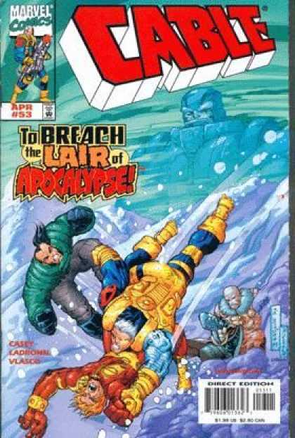 Cable 53 - Marvel Comics - Cable - To Breach The Lair Of Apocalyps - Casey - Vlasco - Jose Ladronn
