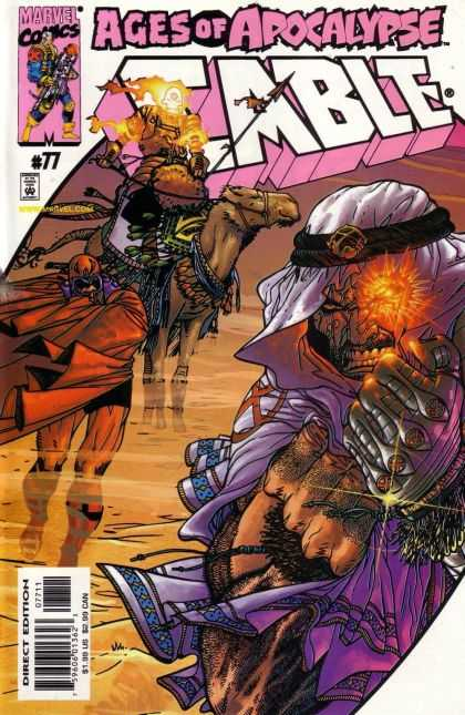 Cable 77 - Magneto - Camel - Holocaust - Issue 77 - Spear