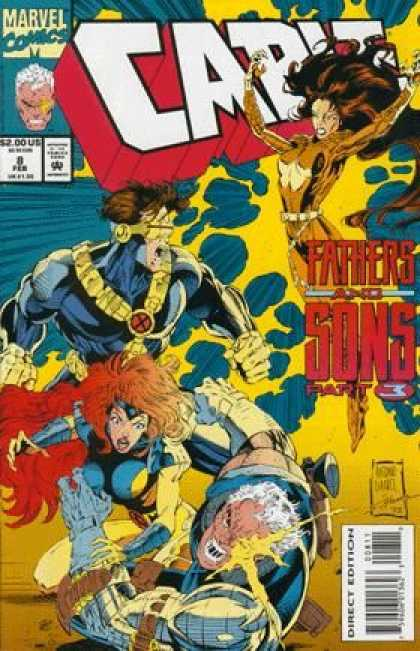 Cable 8 - Cyclops - Fathers And Sons - Jean Grey - Mutants - X-men