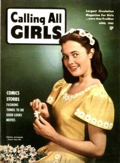Calling All Girls 38 - Magazine - Stories - Comics - Fashions - Things To Do