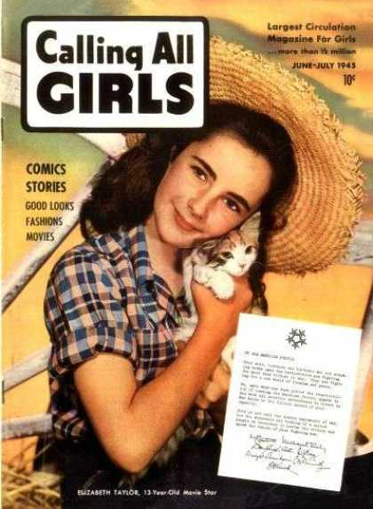Calling All Girls 40 - Comics Stories - Largest Circulation - Good Looks - Fashions - Movies