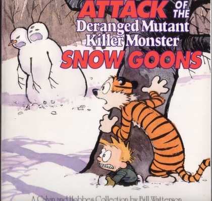Calvin and Hobbes 7 - Tiger - Boy - Winter - Snow - Snow Goons