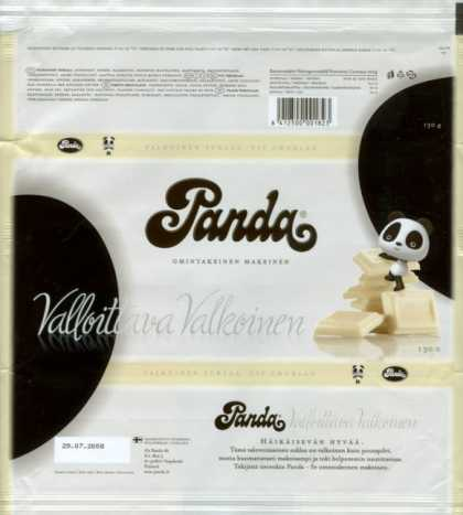 Candy Wrappers - Panda