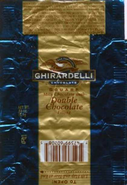 Candy Wrappers - Ghirardelli